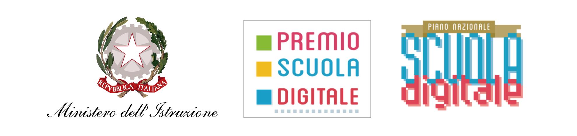 Logo MIUR, PSD, Scuola Digitale